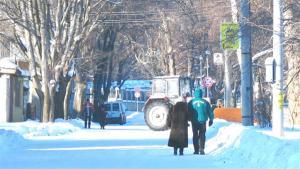 През последните няколко дни Силистра заприлича на зимен курорт.